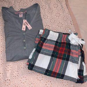 Victoria's Secret pajama pants top set S